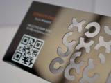 Бизнес на металлических визитках